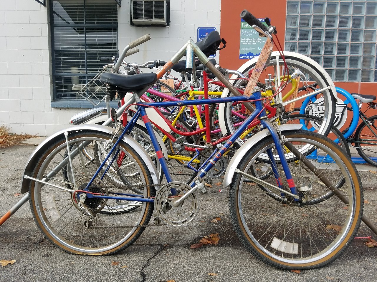 outside bike sales