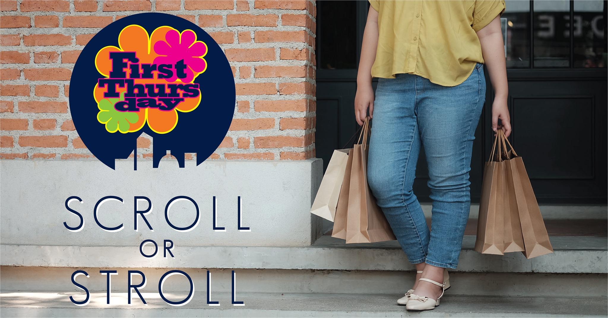 scroll or stroll